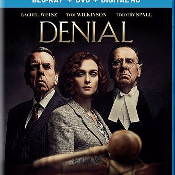 Rachel Weisz & Tom Wilkinson - Denial (Blu-ray + DVD + Digital HD)