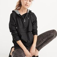 Womens Nylon Popover Jacket | Womens New Arrivals | Abercrombie.com