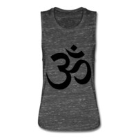 Om, Women's Flowy Muscle Tank by Bella
