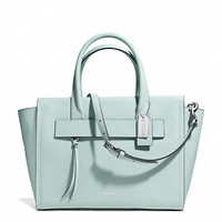 BLEECKER RILEY CARRYALL IN SAFFIANO LEATHER