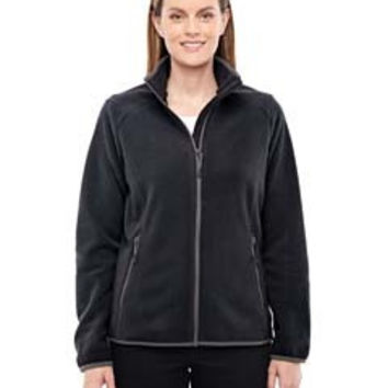 North End Sport Red Ladies' Vector Interactive Polartec Fleece Jacket