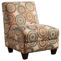 Accent Seating Contemporary Armless Accent Chair