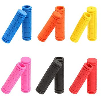 Rubber Handlebar Grips Grill BMX MTB Cycle Mountain Bike Bicycle Handles For Bicycles Bar Grip Fixed Gear Parts For A Bike