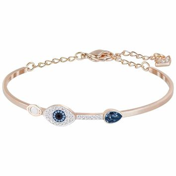 2018 New High Quality 925 Sterling Silver Jewelry Evil Eye Charms Bracelet Bracelets For Women Gift