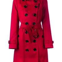Burberry Sandringham Fit Cashmere Trench Coat - Farfetch