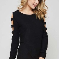 All About the Arm Top in Black