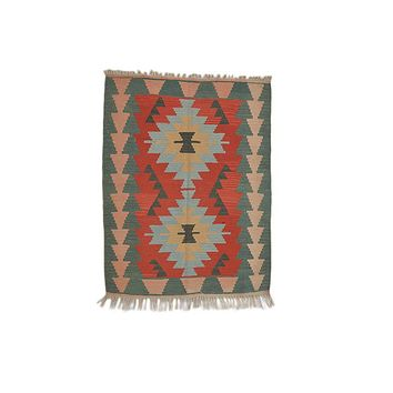 "Turkish Kilim Turkish 3' 1"" X 4' 0"" Handmade Rug"
