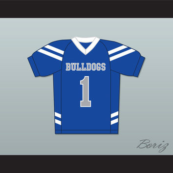 Bella Dawson 1 Bulldogs School Football Jersey