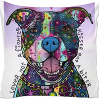 Cute Pitbull Pillow Case