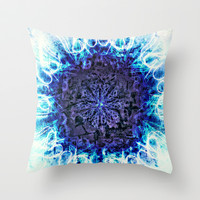 DVESHA Throw Pillow by Chrisb Marquez