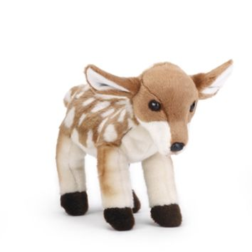 Lifelike Stuffed Deer Fawn by Nat and Jules