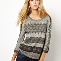 Pepe Jeans Lace Patterned Top