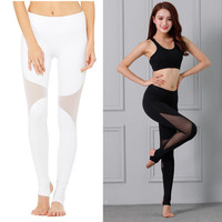 Star Winter Gym Jogging Pants Yoga Sportswear [10392693446]