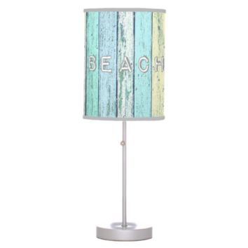 Driftwood Beach Table Lamp