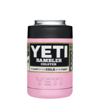 YETI Pretty Pink Colster Can Cooler & Bottle Insulator