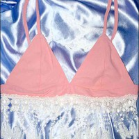 SWEET LORD O'MIGHTY! BABY DARLING BRALET IN PINK