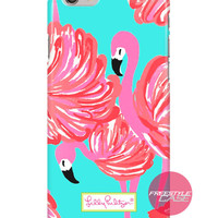 Lilly Pulitzer Flamingo a Little Leg iPhone Samsung Case Series