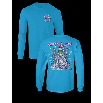 Sassy Frass Gnome Saying Girlie Long Sleeves Bright T Shirt