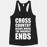 Cross Country Begins Where The Pavement Ends