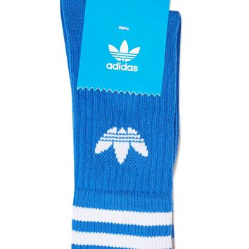 2 Pack Solid Crew Socks by Adidas | Topshop