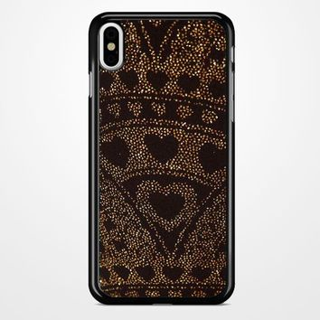 Asos Leggings In Glitter Heart iPhone X Case