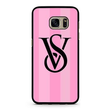 Victoria Secret Logo 2 Samsung Galaxy S7 Case
