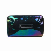 PROENZA SCHOULER SMALL OIL SLICK LEATHER MAKE UP CASE - WOMEN - PROENZA SCHOULER - OPENING CEREMONY
