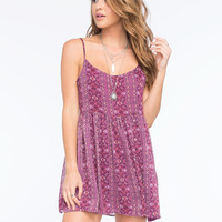 Full Tilt Boho Dress Multi  In Sizes