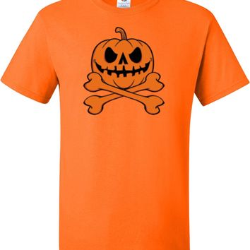 Halloween Pumpkin Skeleton Tall T-shirt