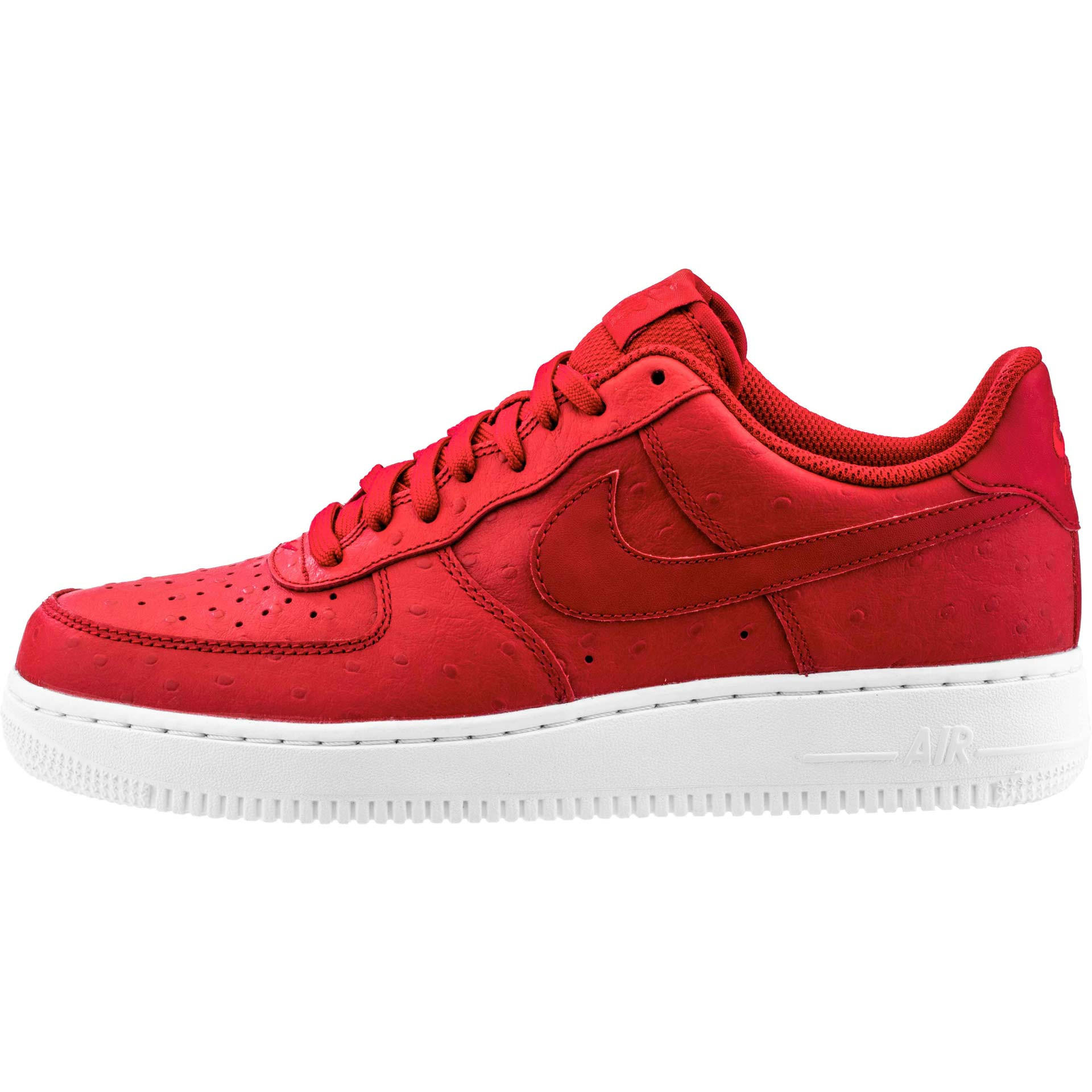 Nike Air Force 1  07 LV8 (Mens) - Gym Red White Gym Red 18c8b14ff9d3