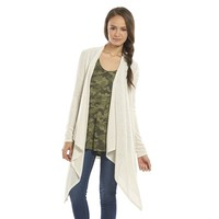 Mudd Open-Front Juniors' Cardigan, Size: