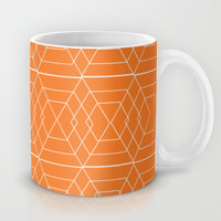 orange hex Mug by Vy La