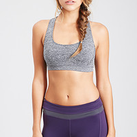 FOREVER 21 Low Impact - Heathered Sports Bra