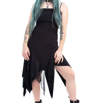 Vintage 90's Goth Fairy Dress - XS/S