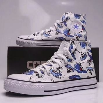 Converse   Disney Co-op Mickey Mouse Doodle High Top Canvas Shoe 3fc9a15dd
