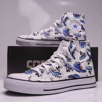 Converse   Disney Co-op Mickey Mouse Doodle High Top Canvas Shoe. Shoes ... 6e1790611