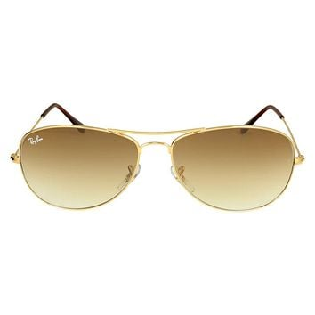 Cheap Ray-Ban Pilot Gold-Tone Metal Frame Sunglasses RB3362-001-51-59 outlet