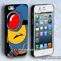 X Minion Cyclops iPhone 5 or 5S Case