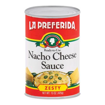 La Preferida Nacho Sauce - Cheese - Case Of 12 - 15 Oz.
