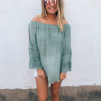 Lacey Sage Off The Shoulder Blouse