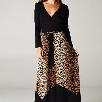 Safari Goddess Maxi Dress