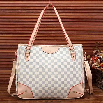 Louis Vuitton Trending Fashion Women Leather Satchel Shoulder Bag Handbag Crossbody White G