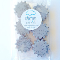 Rainy Day Wax Melt - Wax Tart - Soy Wax Melt - Highly Scented - Maximum Fragrance - Ocean - Driftwood - Water - Rain