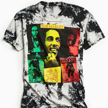 Bob Marley Collage Dye Tee | Urban Outfitters