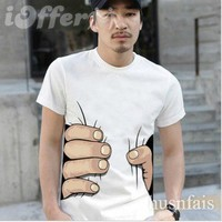 "iOffer: ""i catch you"" 2012 new men's T-shirt women's T-shirt  for sale"