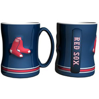 Boston Red Sox MLB Coffee Mug - 15oz Sculpted (Single Mug)