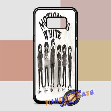 Motionless In White (monster cartoon) Samsung Galaxy S8 Plus Case Planetscase.com