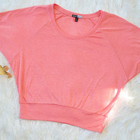 So Sweet Crop Top: Pink