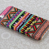 Aztec Tribal Pattern Hard Snap On Case Cover Skin Bumper for Apple iPhone 5 5G