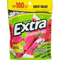Extra Sweet Watermelon Sugarfree Gum Refill, 180 pc, 8.8 oz - Walmart.com